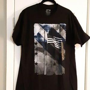 AMERICAN FLAG T Shirt NWT